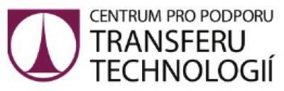 Logo Centrum pro podporu transferu technologií